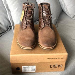 CRĒVO Horchata Plain Toe Boots